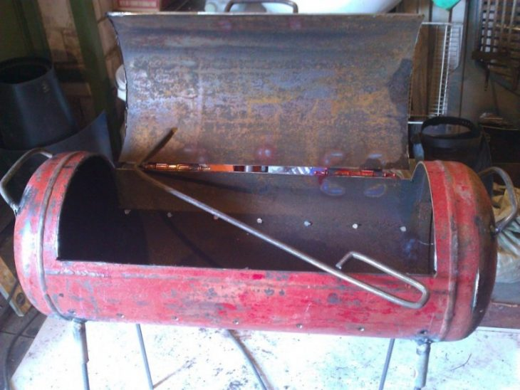 Размеры мангала для шашлыка: чертежи, какой должна быть высота и глубина