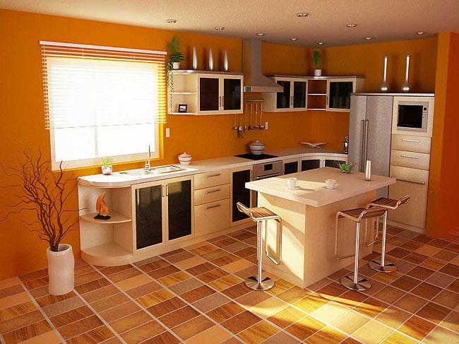 Линолеум в кухне