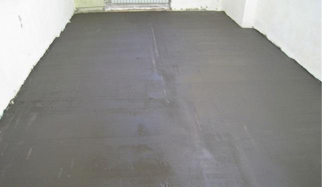 Выравнивание бетонной плиты