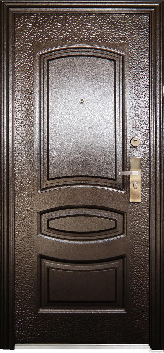 Железная входная дверь