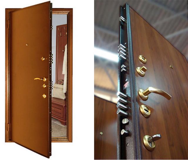 Наиболее популярные двери - железные