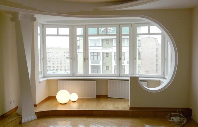 Балкон или лоджия позволят получить дополнительное пространство