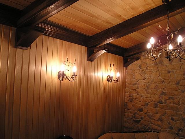 Несущими могут быть не только кирпичные, но и деревянные стены