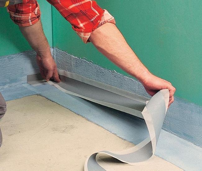 Оклеечная гидроизоляция ванной комнаты швейцарские преобразователи ржавчины