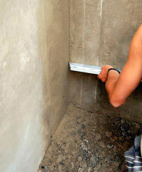 Как сделать внутренние углы стен