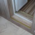 Балконный порог можно отделать ламинатом
