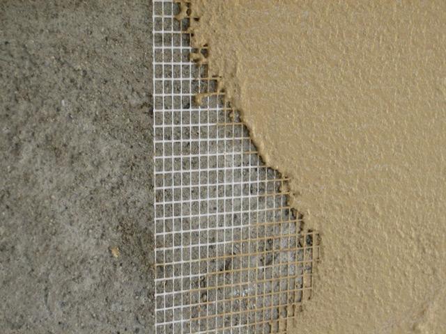 Использование стеклотканевой сетки