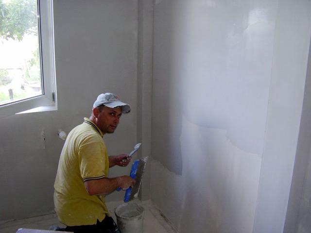 инструкция по шпаклевке стен