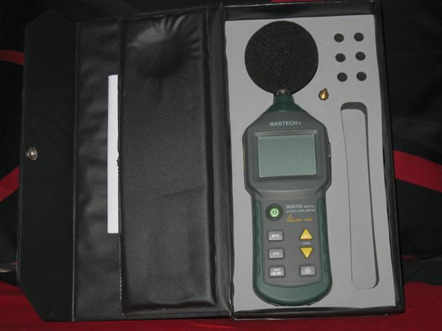 Шумомер используется для измерения уровня проникающего шума