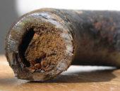 Удаление ржавчины пескоструем требует полного демонтажа водопроводной системы