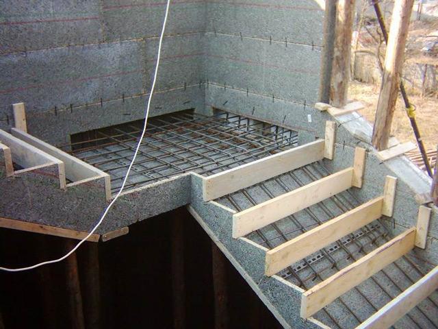 Как сделать жб лестницу