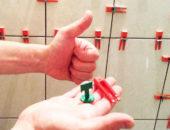 «Крестики» или система выравнивания плитки… Купите что считаете подходящим, но швы должны быть ровными
