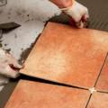 Укладка плитки на пол на бетонный пол