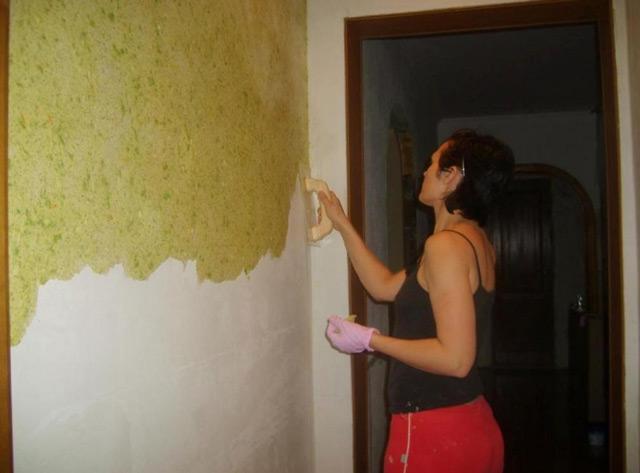 Жидкие обои – это новый материал для отделки стен, имеющий множество преимуществ