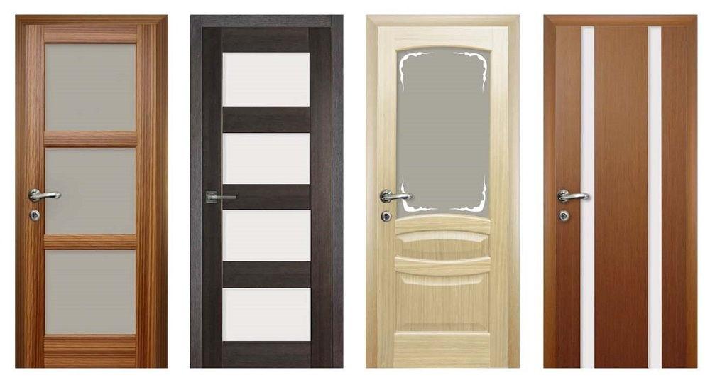 Существуют разные виды межкомнатных дверей