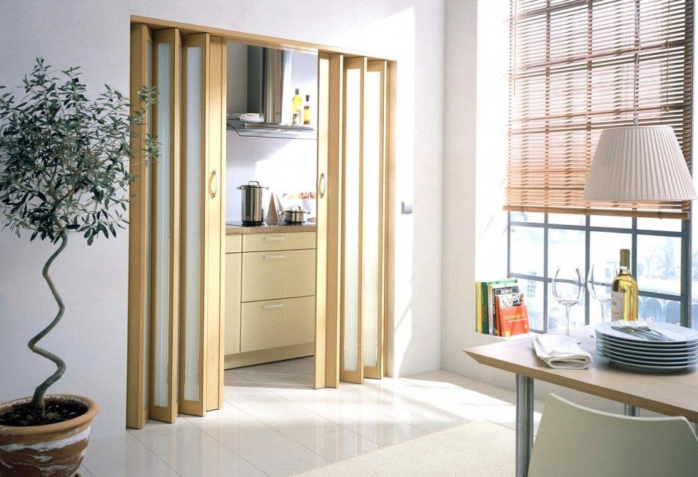 Уют и красота с дверью-гармошкой