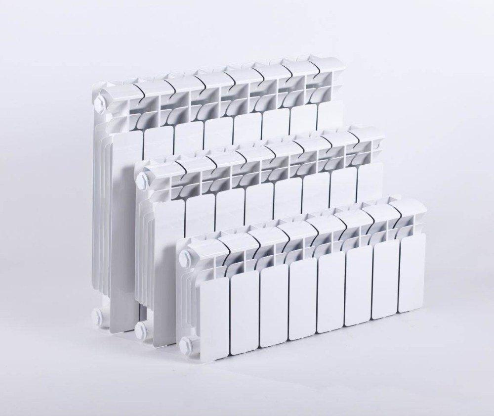 Три модели радиатора с межосевым расстоянием 50 см