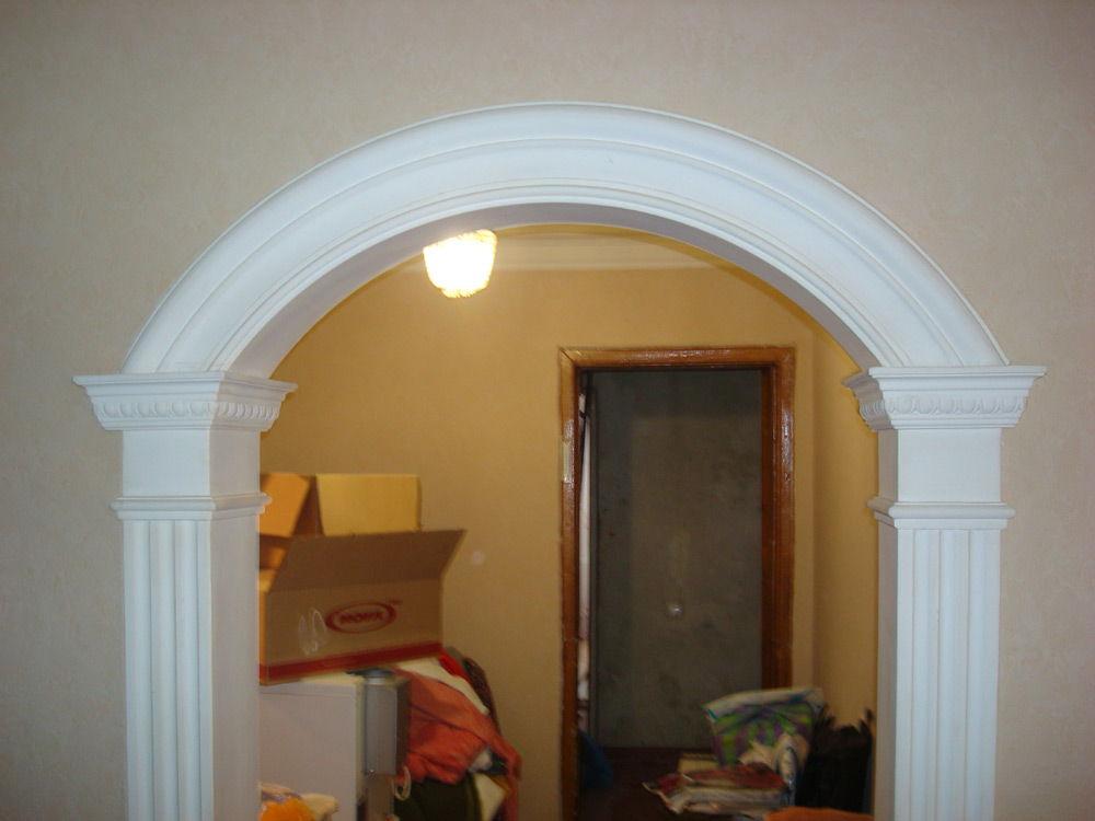 Как украсить дверную арку