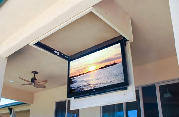 Потолочные лифты для телевизора