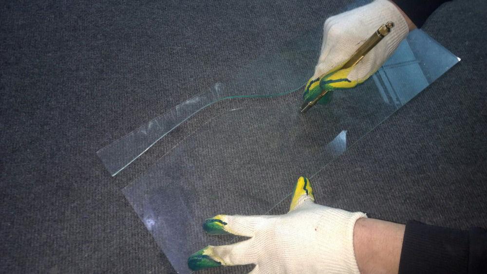 Нарезка стекла
