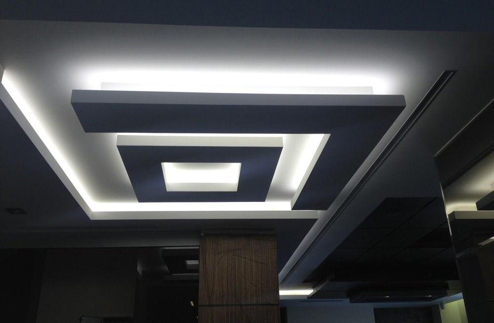 Потолки со светодиодной подсветкой своими руками