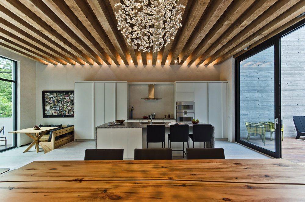 Деревянные балки на потолке своими руками