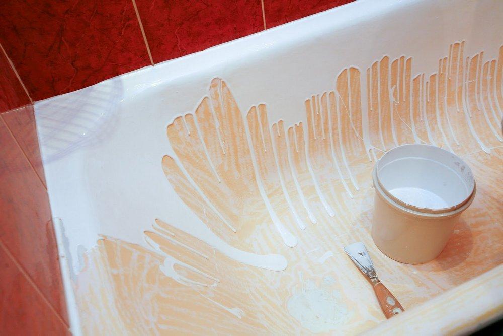 Эмаль ванна своими руками
