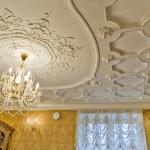 Лепнина для потолка из полиуретана