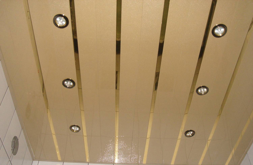 Потолок из ПВХ-панелей
