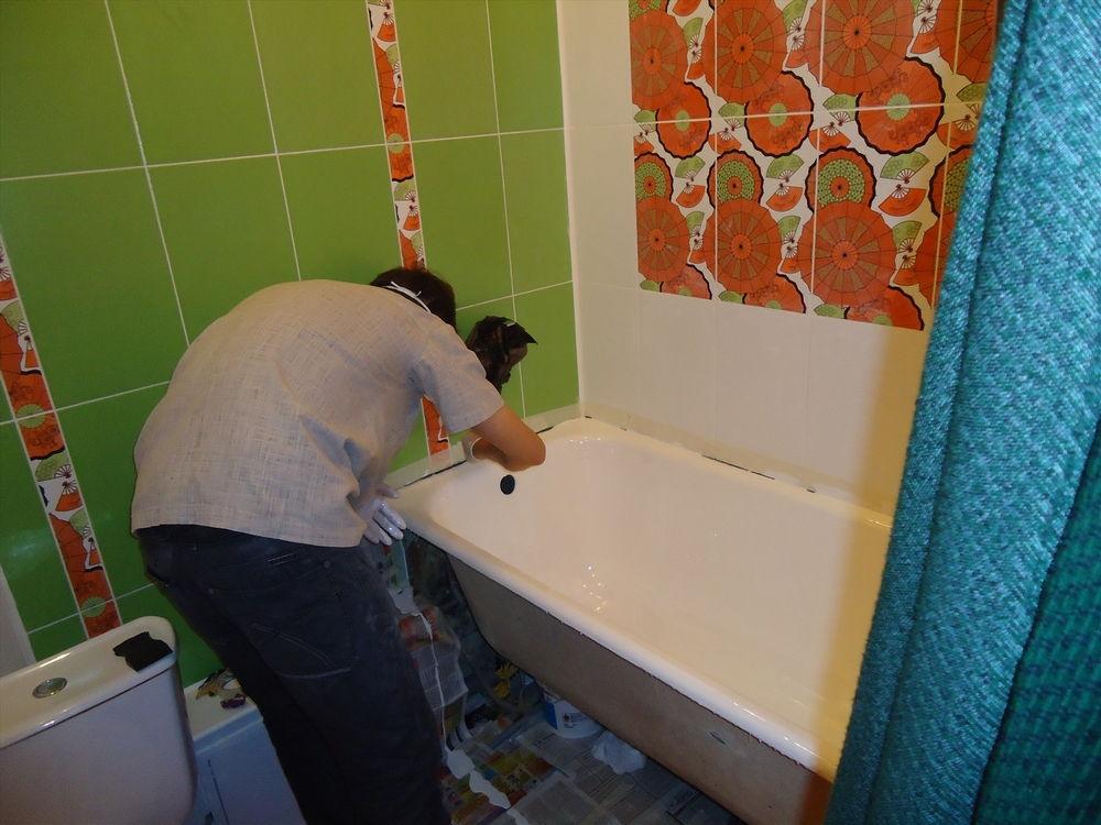 Реставрируем ванну своими руками