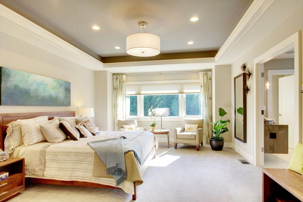 Способ отделки потолка методом смещения