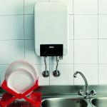 Установка газового водонагревателя