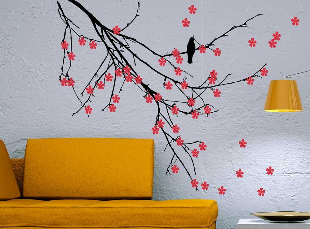 Рисунки на стене в квартире своими руками на кухне