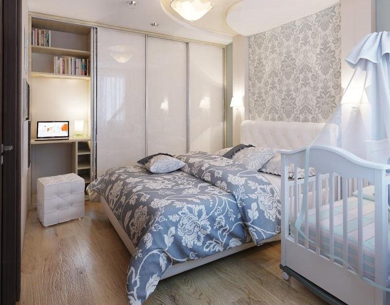 Дизайн спальни с ребенком
