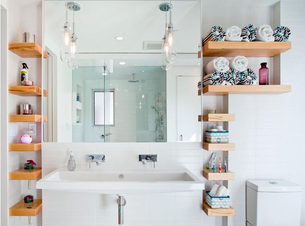 Полочки в ванную комнату своими руками