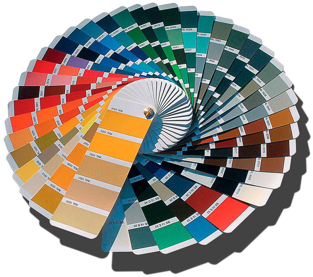 Wandfarben palette max
