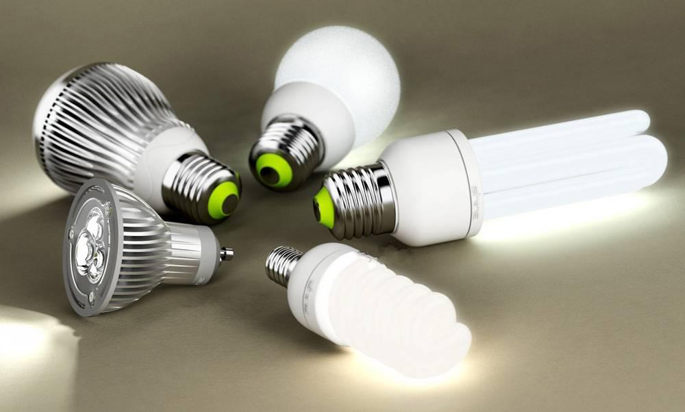 Светодиодные или энергосберегающие лампочки