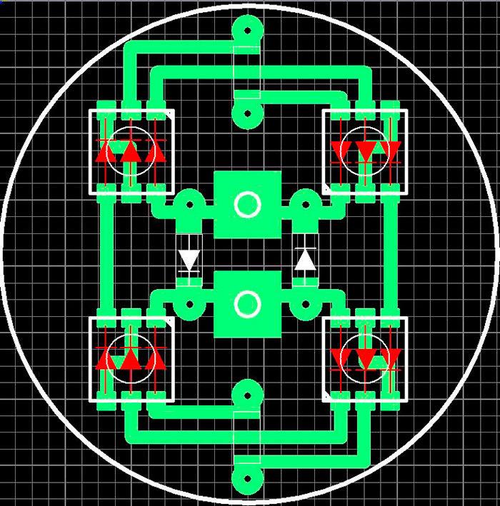 Схема светодиодной лампы