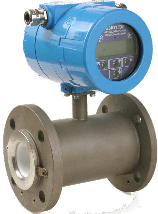 Электромагнитный счётчик воды