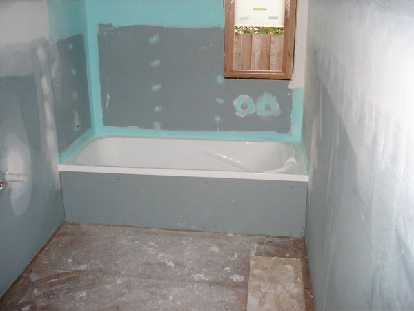 Использование гипсокартона для отделки ванной