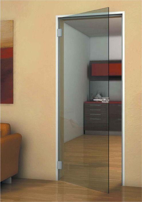 Стеклянная дверь в кухню