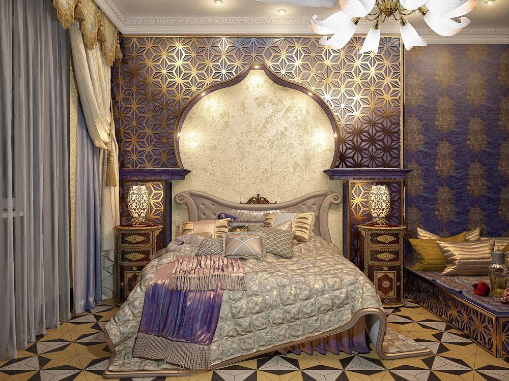 Дизайн интерьера в арабском стиле