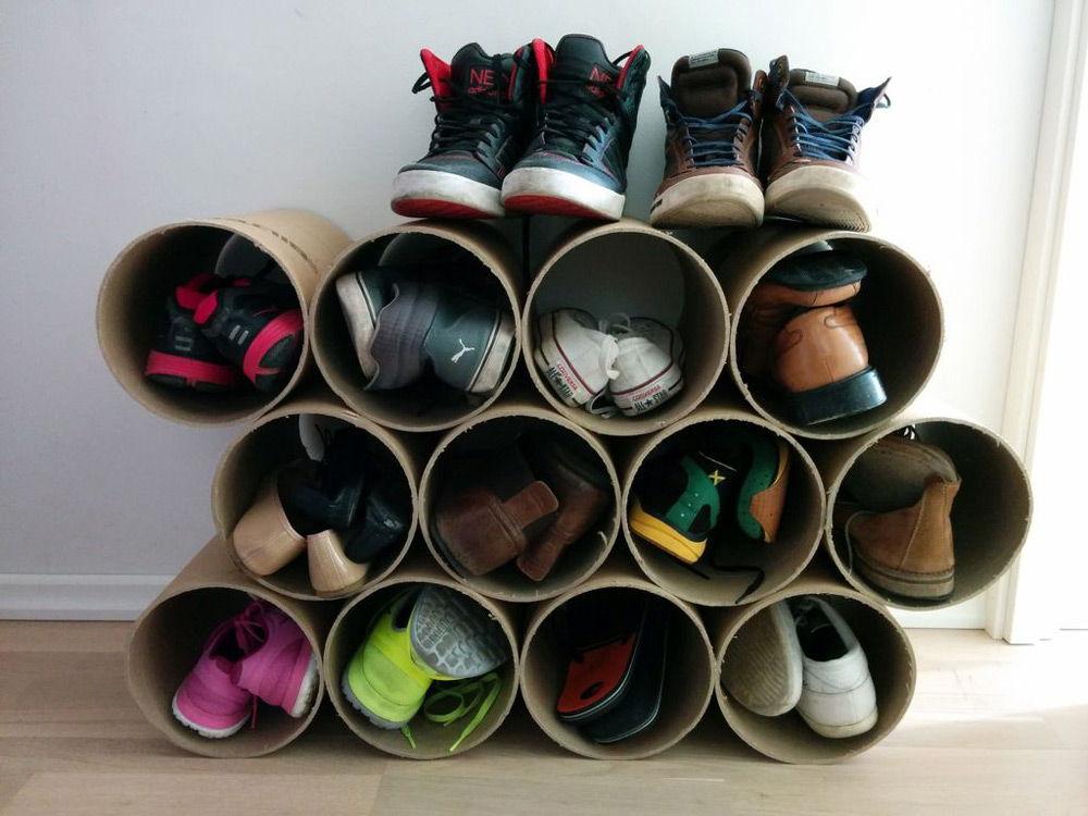 Подставка для туфель своими руками 83