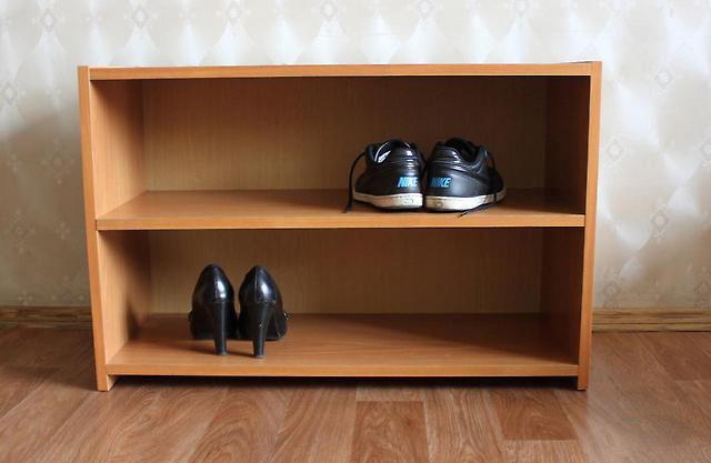 Полка для обуви из ДСП