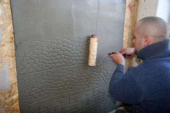 Декоративная штукатурка для стен как делать , Бесплатное хранилище фотографий