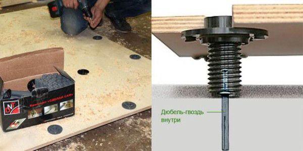 Регулируемые плиты: монтаж