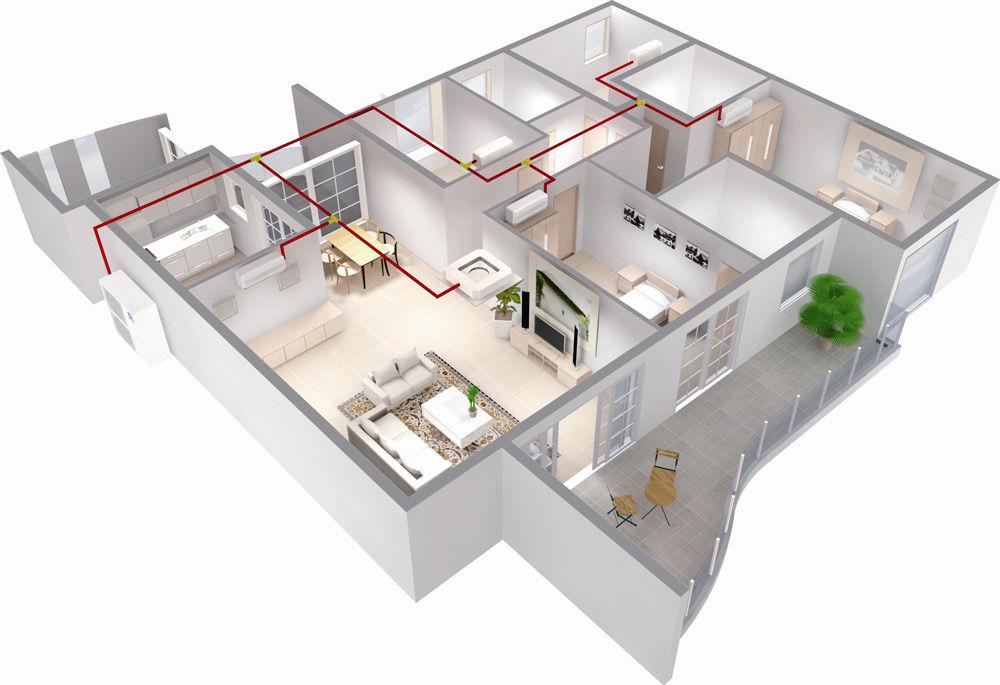 Сплит-система в квартире