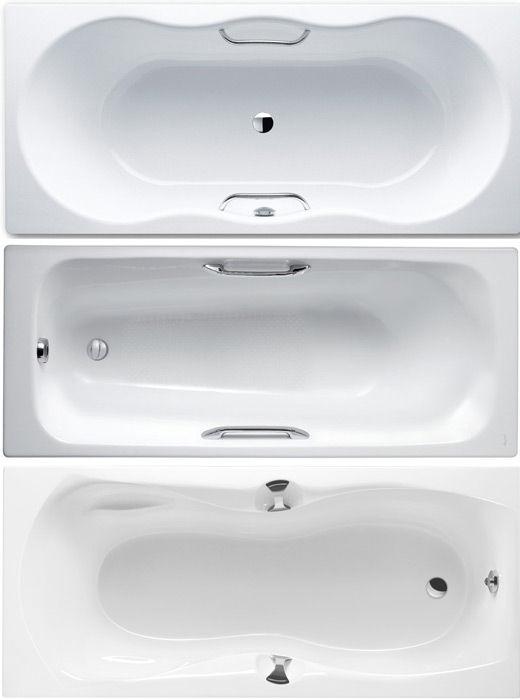 Стальная, чугунная и акриловая ванна