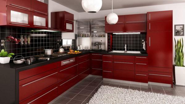 Угловые кухни модерн фото дизайн 88