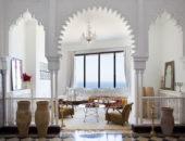 Зона отдыха в марокканском стиле